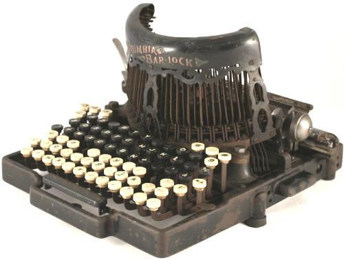 Columbia Bar-Lock typewriter