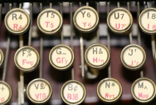 Hammond mathematical typewriter