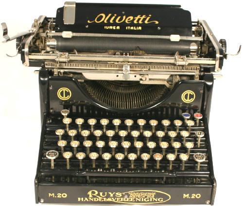 Olivetti M20 Typewriter Olivetti M25