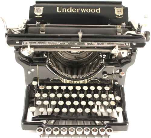 Underwood 3 Typewriter